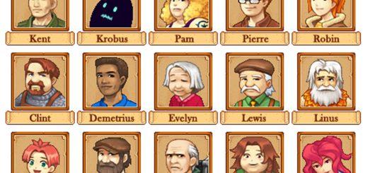 Portraits-Character-Mod