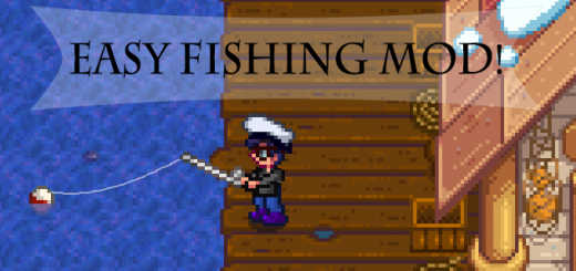 Easy fishing mod