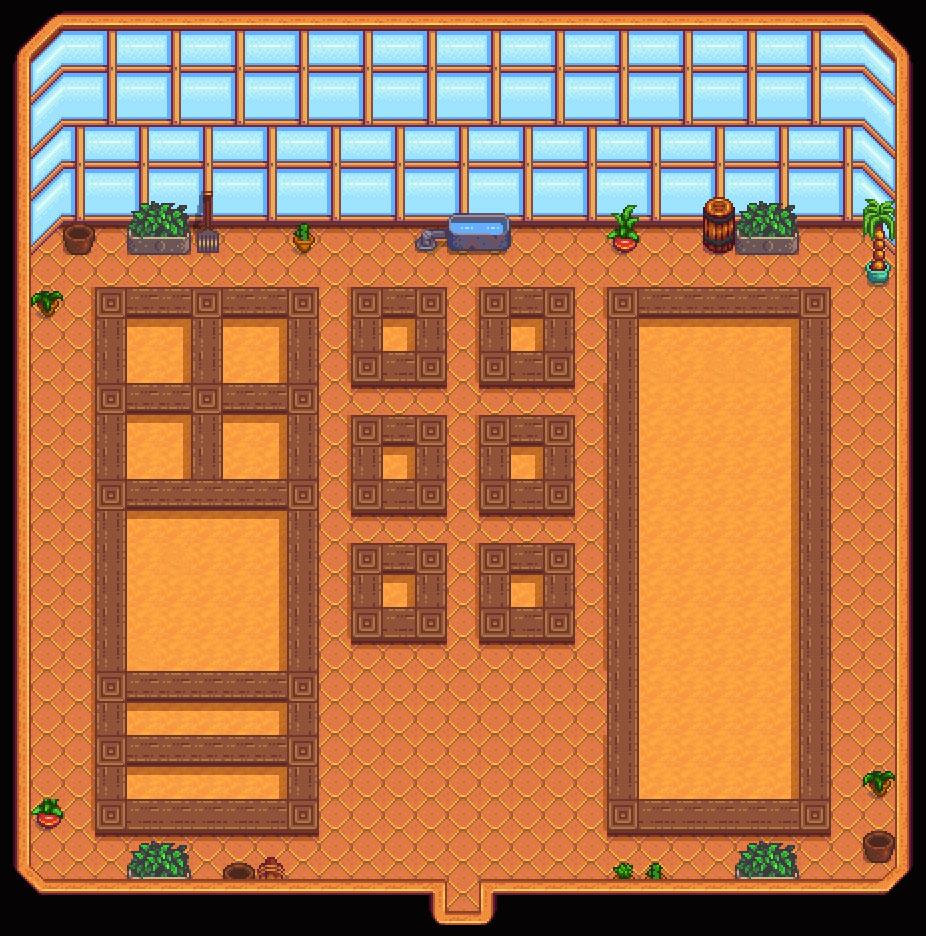 Organized Greenhouse Mod