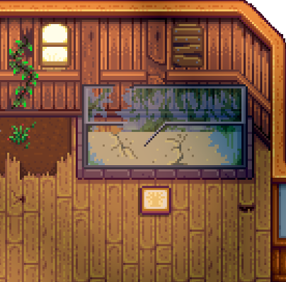 Stardew valley fish tank before completing bundles