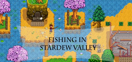 Fishing in stardew valley