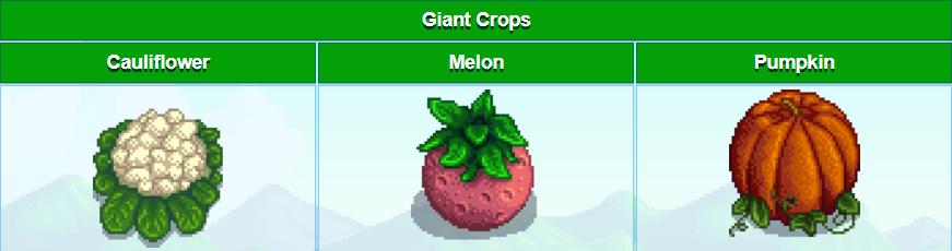 stardew valley giant crops