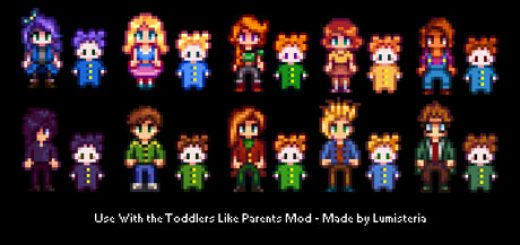 Babies Like Parents Mod