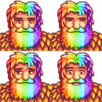 Rainbow-Beard Linus Mod