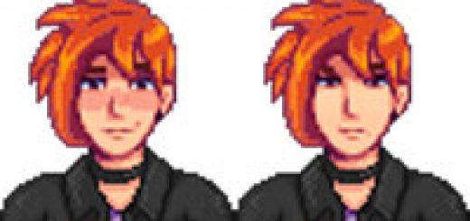 Sebastian Ginger Mod