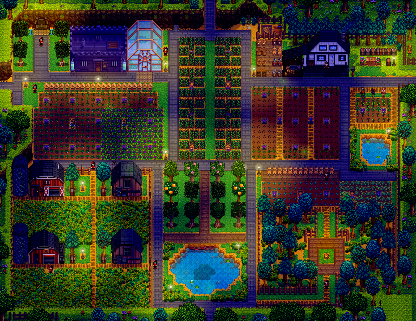 best stardew valley farm design