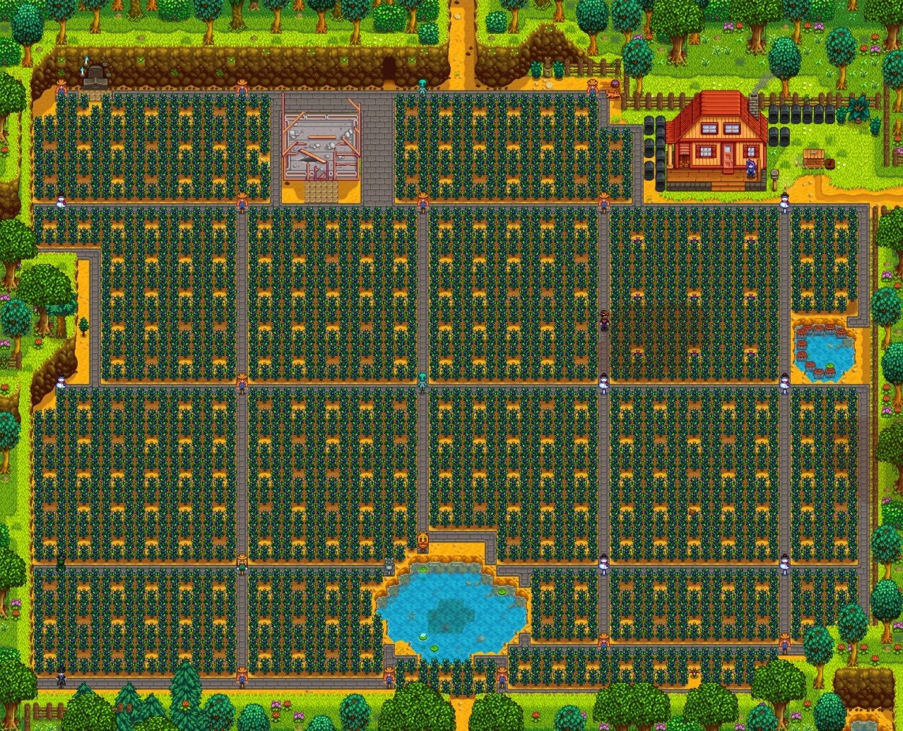 Stardew valley farming guide setup layouts and design stardew valley - The most profitable orchards ...