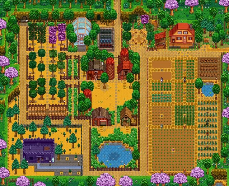 unique stardew valley farm design