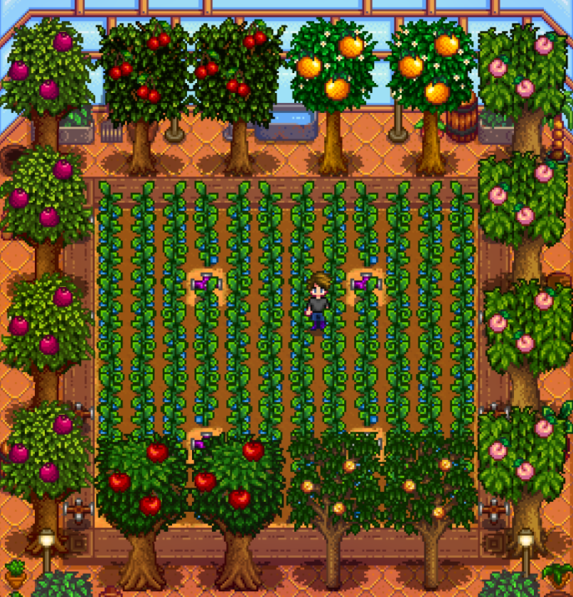 HOW TO GROW TREES IN STARDEW VALLEY
