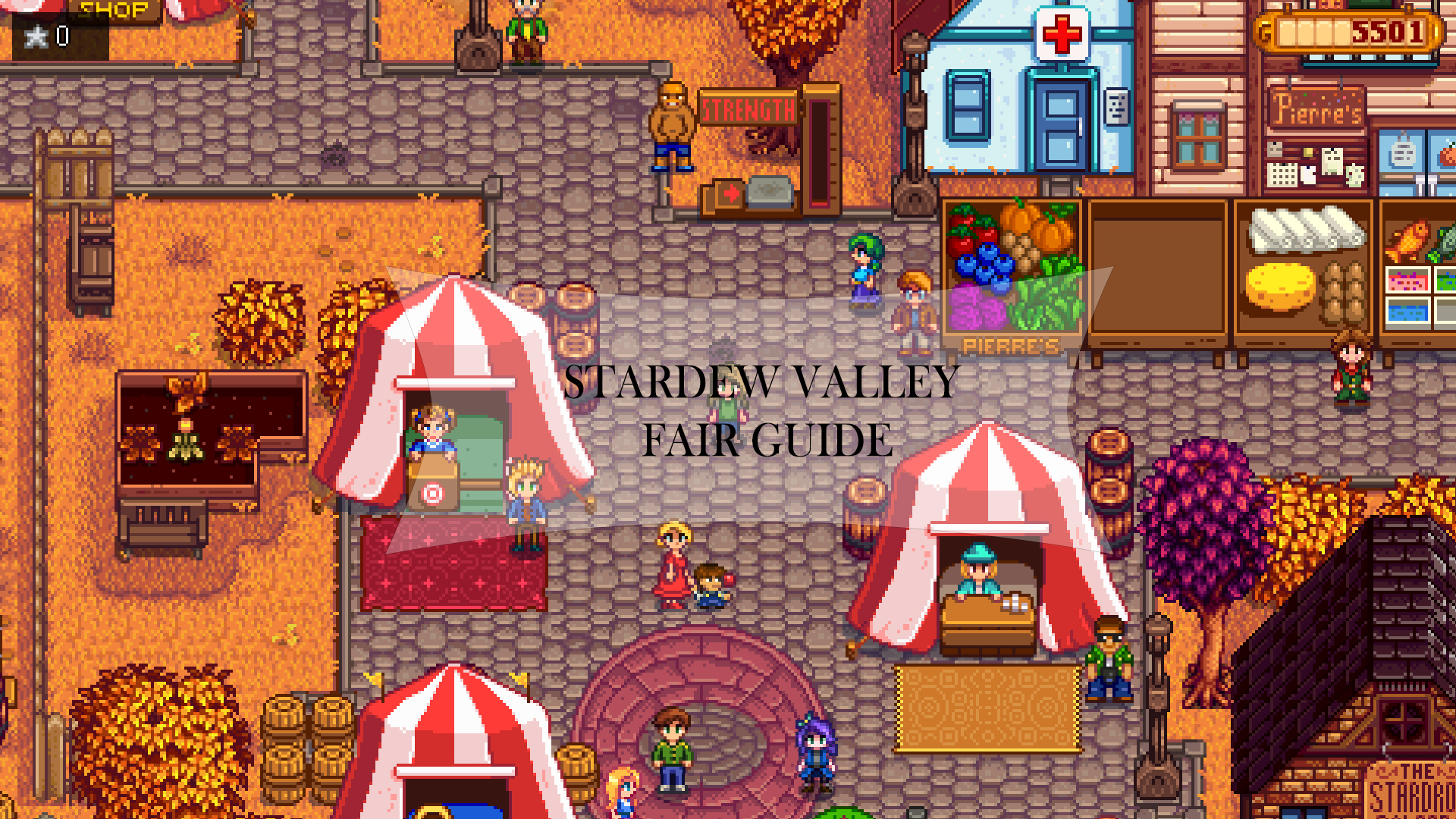 Stardew Valley Fair guide