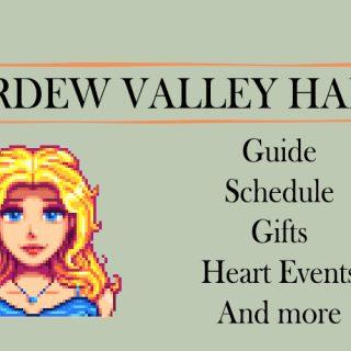 Stardew valley haley