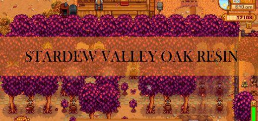 Stardew valley oak resin