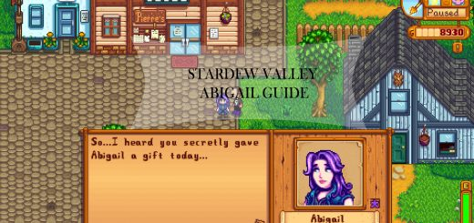 Stardew Valley Abigail Guide: schedule, gifts, questions | Stardew
