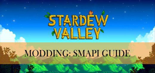 stardew valley modding smapi guide