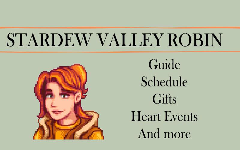 Stardew valley Robin