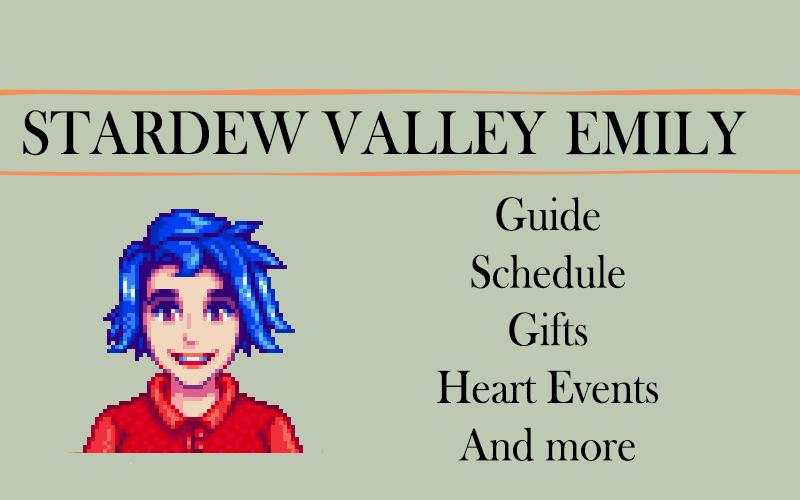 Stardew valley emily