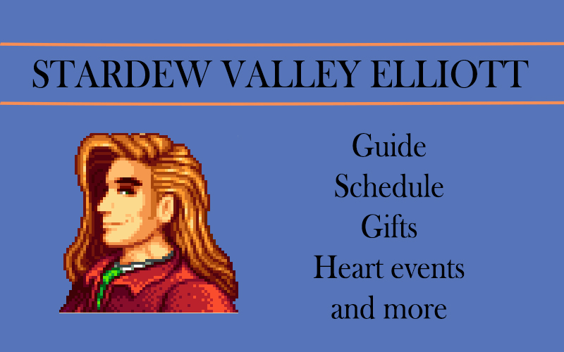 Stardew valley Elliott