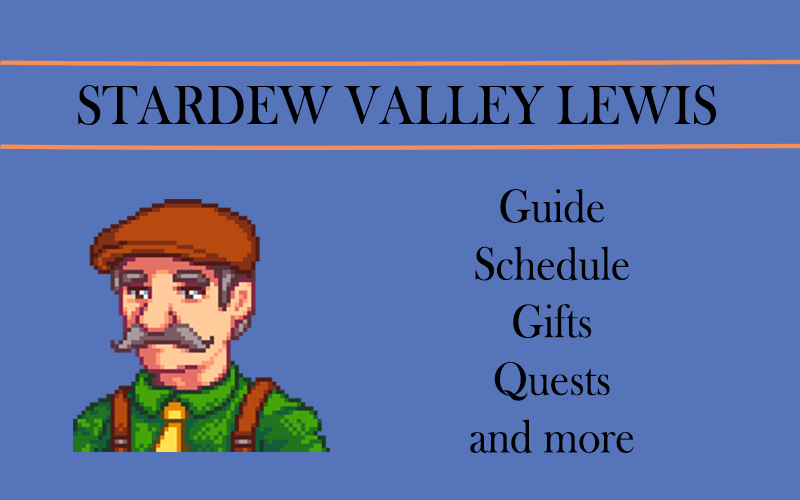 stardew valley Lewis