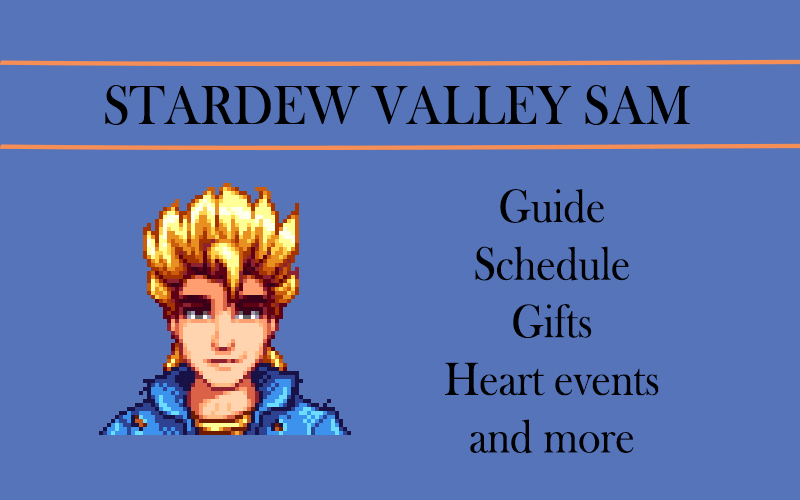 stardew valley SAM
