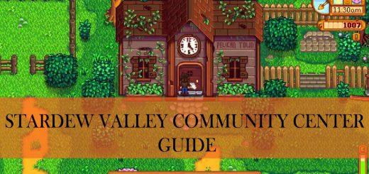 stardew valley community center guide
