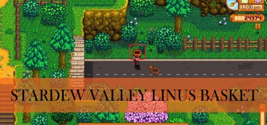stardew valley linus basket