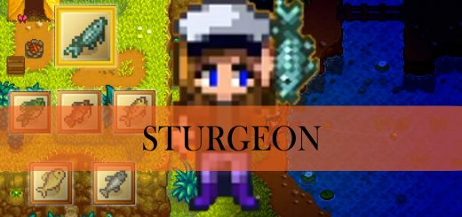 Stardew Valley: Sturgeon