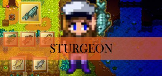 Stardew Valley: Sturgeon