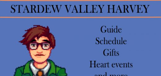 stardew valley Harvey