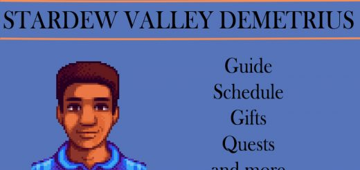 stardew valley demetrius