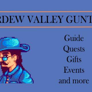 stardew valley GUNTHER