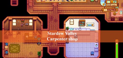 Stardew Valley Carpenter