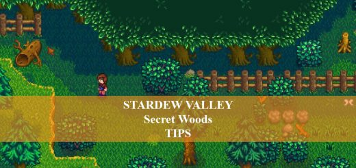 stardew valley secret woods