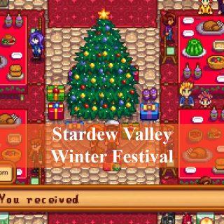 stardew valley winter festival