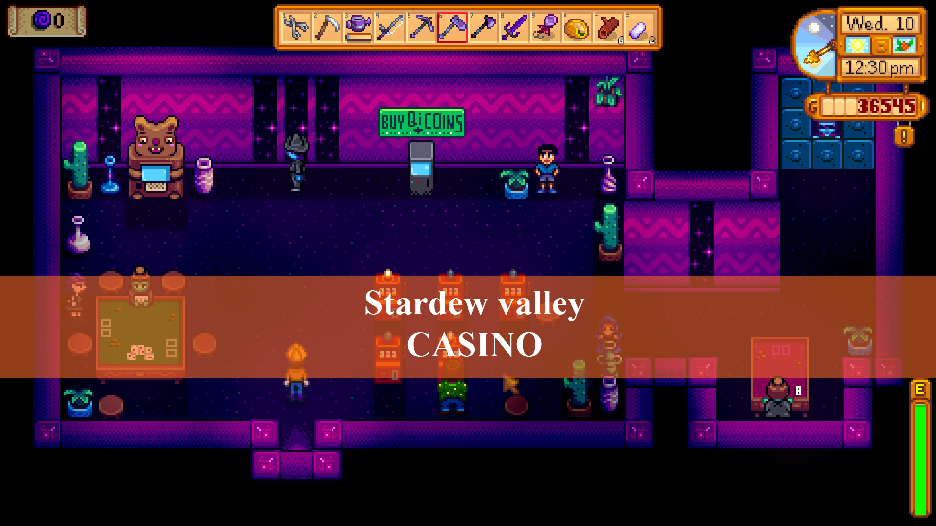 Casino Stardew Valley