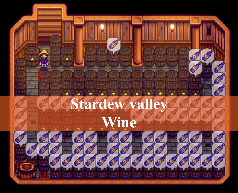 Stardew Valley Wine: How to make best wine | Stardew valley wiki
